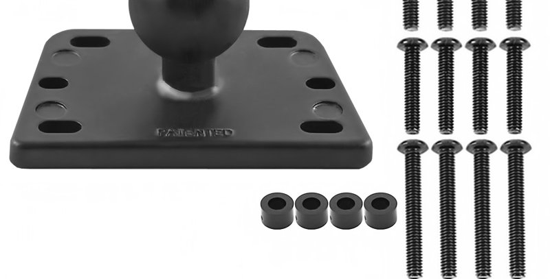 RAM® Centered Reservoir Cover Ball Base