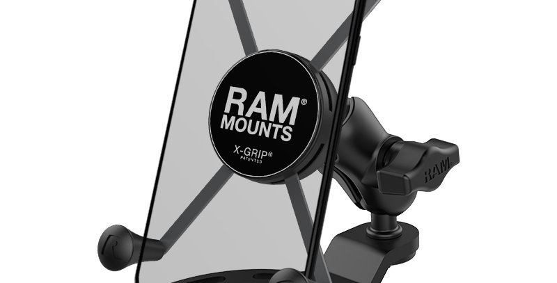 RAM® X-Grip® Large Phone Mount with Small Gas Tank Base