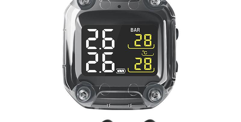 TPMS M3 Bike Motorcycle Tyre Pressure Monitoring System (Internal)