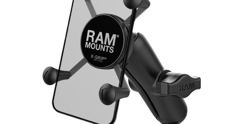 RAM® X-Grip® Phone Mount with RAM® Torque™ Small Rail Base