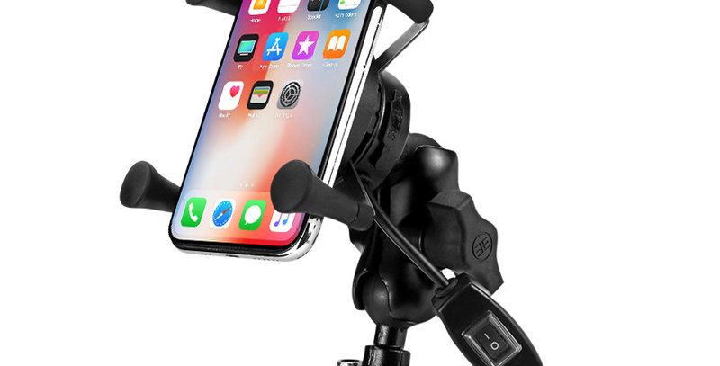 Motorcycle Universal Wireless Phone Holder