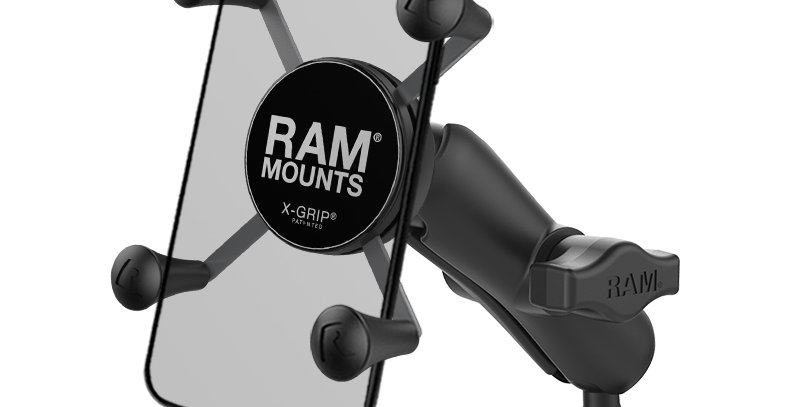 RAM® X-Grip® Phone Mount with RAM® Torque™ Medium Rail Base
