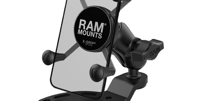 RAM® X-Grip® Phone Mount with Small Gas Tank Base