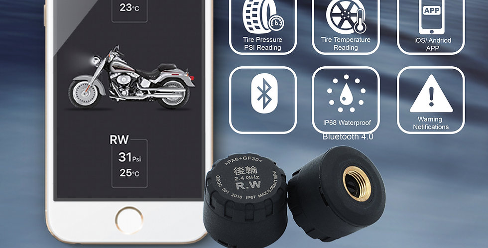 MS-2 Motorcycle TPMS