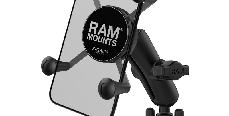 RAM® X-Grip® Phone Mount with Handlebar U-Bolt Base