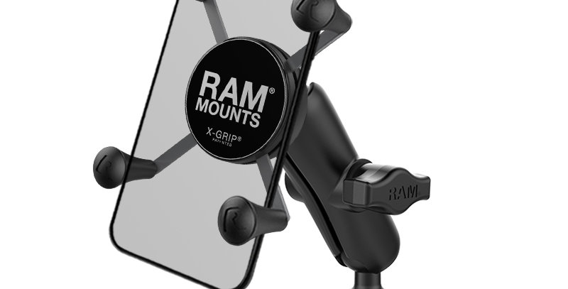 RAM® X-Grip® Phone Mount with RAM® Torque™ Large Rail Base