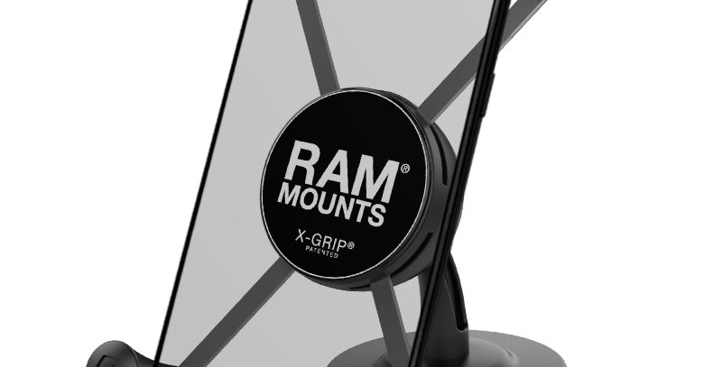 RAM® X-Grip® Large Phone Holder with Lil Buddy™ Adhesive Dash Mount