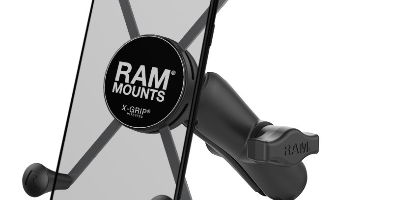 RAM® X-Grip® Large Phone Mount with RAM® Torque™ Medium Rail Base