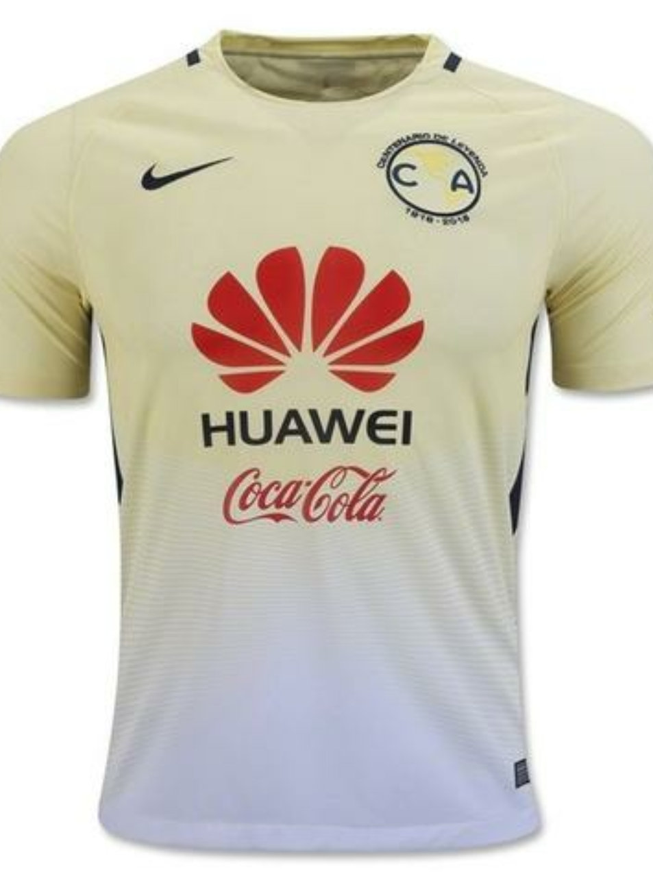 purchase cheap 45539 25133 CLUB AMERICA YELLOW HOME REPLICA JERSEY 16-17
