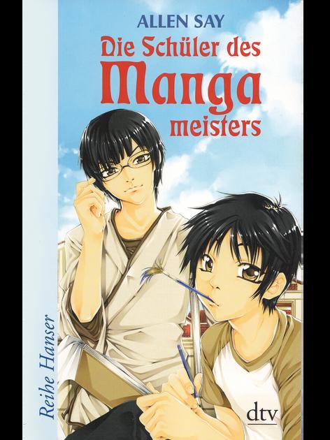 Allen Say - Die Schüler des Mangameisters Buchcover