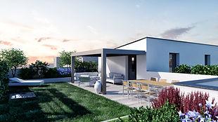 rendering architettura render esterni