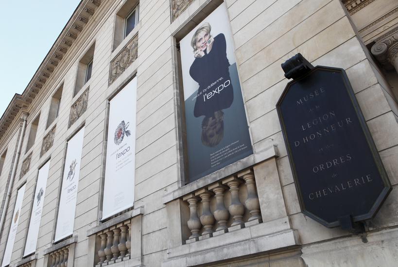 Edeenne exhibition at th Musée de la Légiond'Honneur