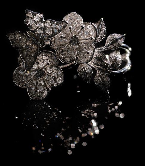 Maison Edeenne - Bague Eden - Or blanc diamant