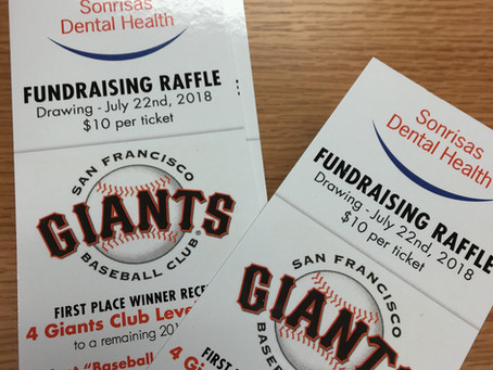Support Sonrisas Dental: Buy a raffle ticket to see the San Francisco Giants!