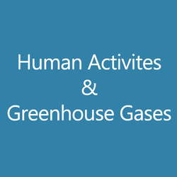 Human Activities and Greenhouse Gase
