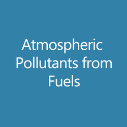 Atmospheric Pollutants from Fuels