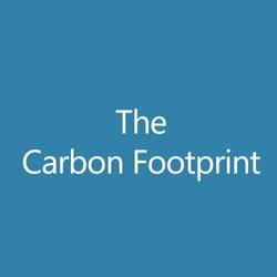The Carbon Footprint