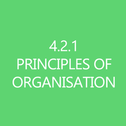 421Principles of Organisation Title Button