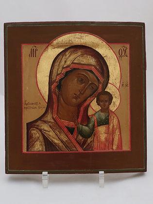 Russische Ikone | Gottesmutter von Kasan | 24446