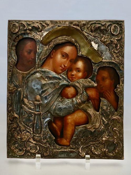Russian icon   Madonna della Seggiola   24752