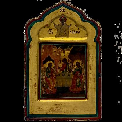 Russische Ikone | Heilige Dreifaltigkeit