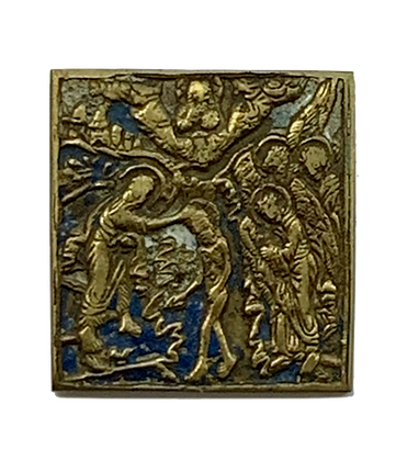 Russian Icon | Bronze Icon | Theophany