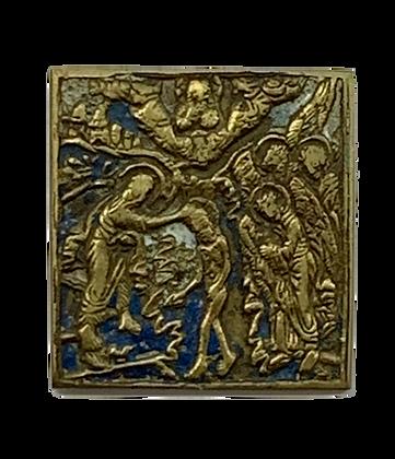 Russische Ikone | Metallikone | Theophanie