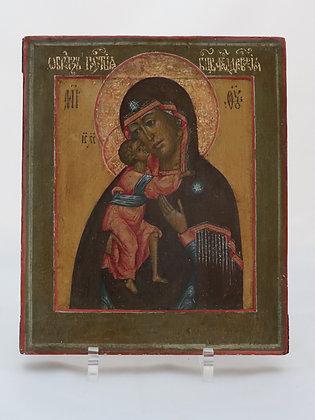 Russische Ikone | Gottesmutter von Feodor | 24647