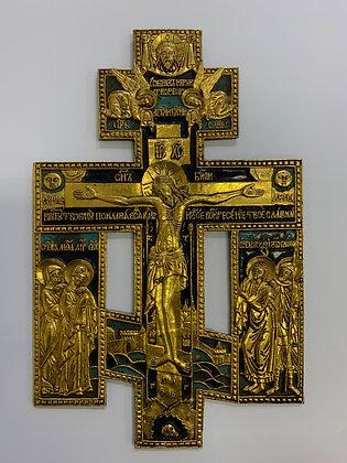 Russische Ikone | Erweitertes Kreuz | 24562