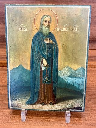 Russische Ikone | Heiliger Michael Maleinos | 24760