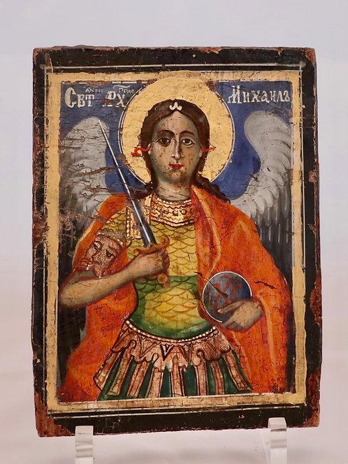 Russian icon | Saint Archangel Michael | 24730