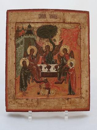 Russische Ikone | Heilige Dreifaltigkeit | 24717