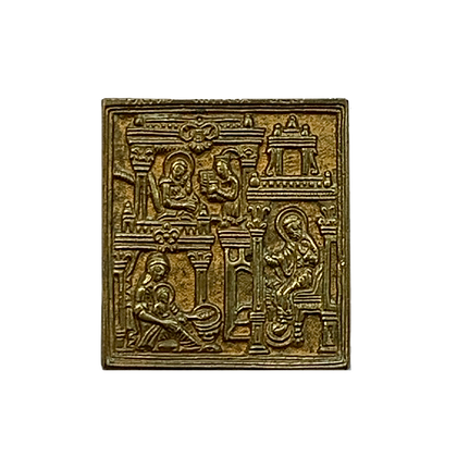 Russian Icon | Bronze Icon | Birth of the Mother of God