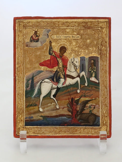 Russian icon   Saint George, the Victorious   24709
