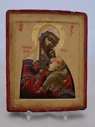 Russische Ikone | Gottesmutter der Passion | 24733