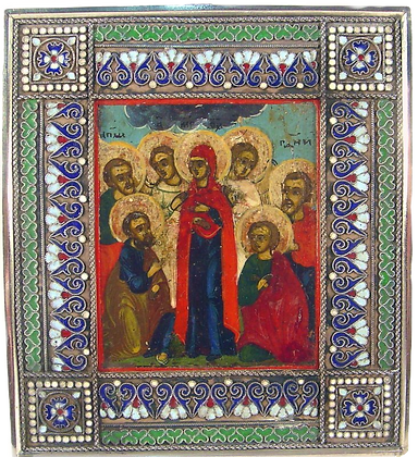 Russian Icon | Ascension of Christ