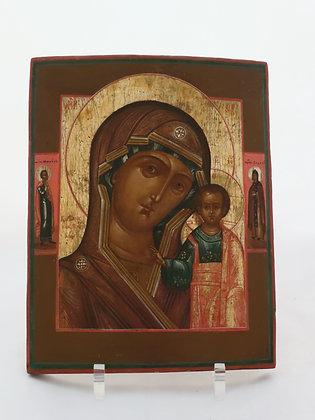 Russische Ikone | Gottesmutter von Kasan | 24439