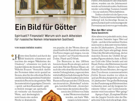 "News Article in the Magazin ""Gewinn"" | November 2019"