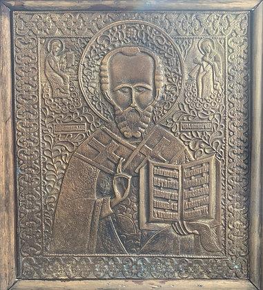 Russische Ikone | Heiliger Nikolaus von Myra | 24574