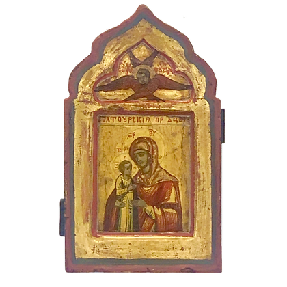 Russian Icon | Mother of God Hodegetria
