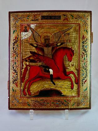 Russische Ikone | Heiliger Erzengel Michael  | 24703