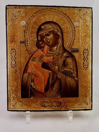 Russische Ikone | Gottesmutter von Feodor | 24720