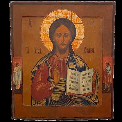 Russian Icon | Christ Pantocrator