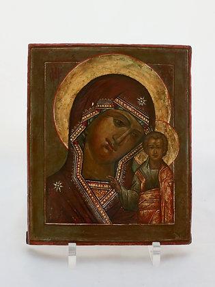 Russische Ikone | Gottesmutter von Kasan | 24643