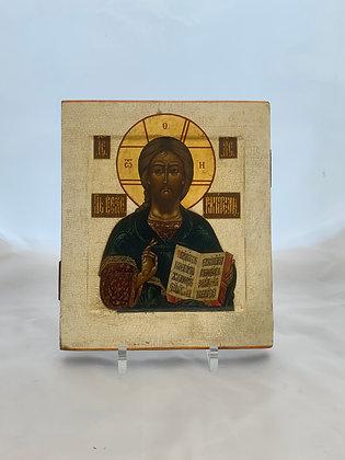 Russische Ikone | Christus Pantokrator | 24734