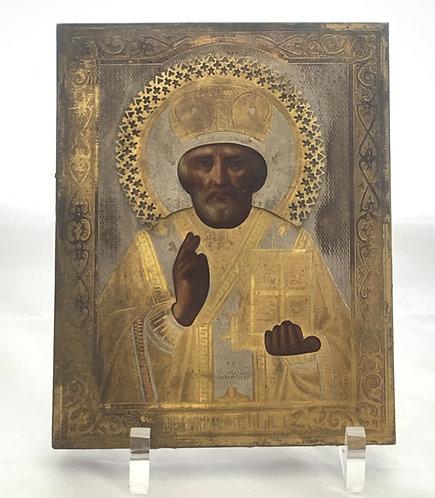 Russian icon | Saint Nicholas of Myra | 24735