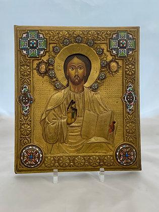 Russische Ikone | Christus Pantokrator | 24746