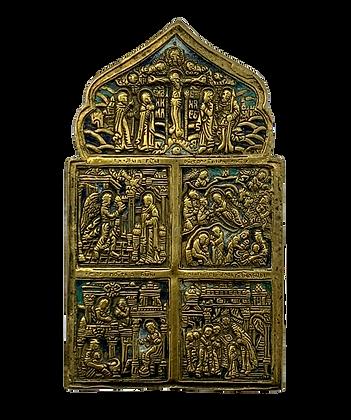 Russian Icon | Bronze Icon | Multiple fields