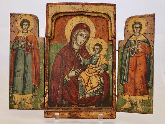 Griechische Ikone | Gottesmutter Hodigitria | 24741