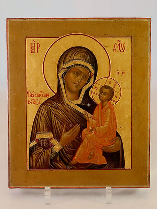Russian Icon | Mother of God of Tikhvin | Tikhvinskaya
